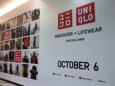 UNIQLOカナダ、バンクーバーに初出店へ カナダ国内3店目