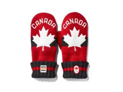 カナダで平昌五輪前に「赤いミトン」販売 収益の一部は五輪基金へ寄付