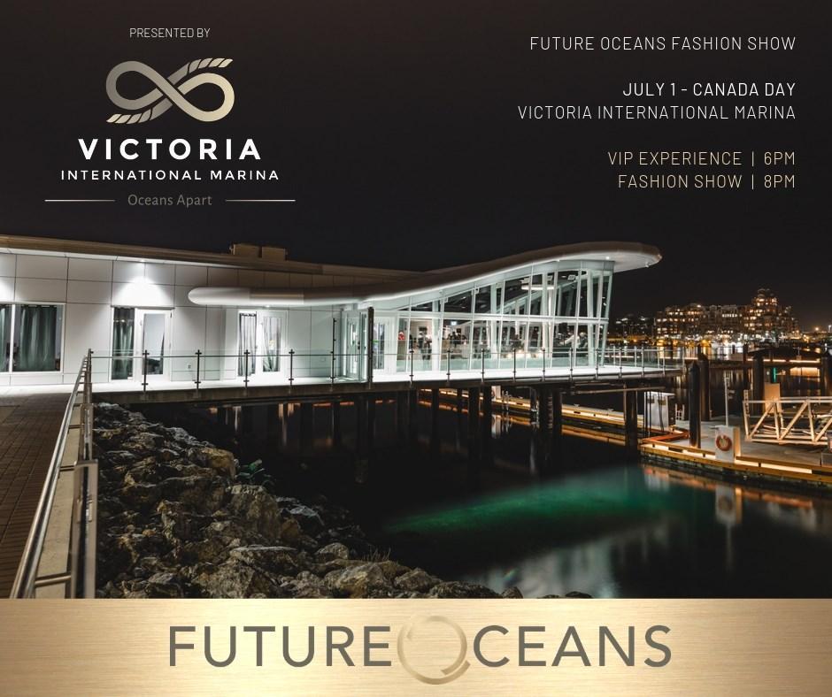 ビクトリアで廃プラスチック利用のファッションショー 海洋ごみ削減呼び掛け